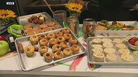 Chef Kelli's mini spaghetti, sandwich roll and other school lunch recipes