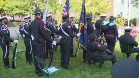 Annual 9/11 ceremony held at Michigan Fallen Heroes Memorial in Pontiac