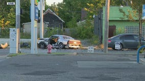 Fatal accident reported on Detroit's east side after two-car crash early Friday