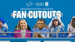 Detroit Lions fans can purchase custom cutouts of themselves for games at Ford Field