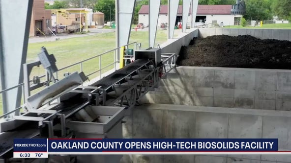 Oakland County's new Wastewater Treatment Plant