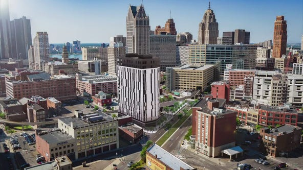 Detroit plans $64M, 16 floor apartments and condos in Greektown