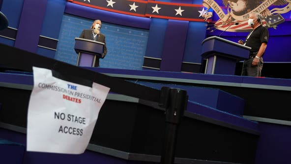 Presidential debate: COVID-19 tests, masks and no crowds in the age of coronavirus
