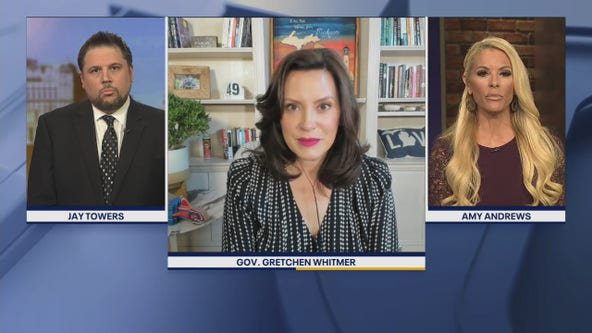 Michigan Gov. Whitmer talks restrictions on assisted living, movie theaters reopening, and early voting