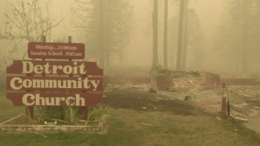 Local man sets up fundraiser to help city of Detroit, Oregon after devastating wildfires