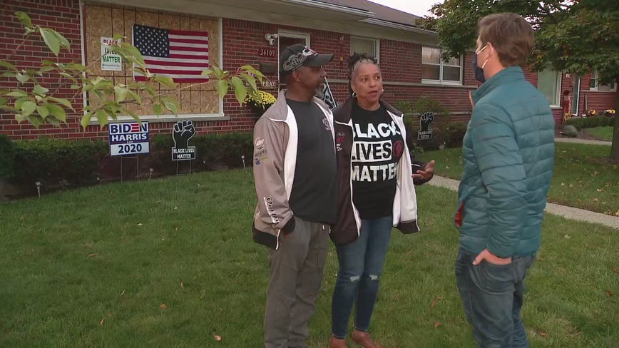 Warren couple relieved after arrest made in racial hate crime siege