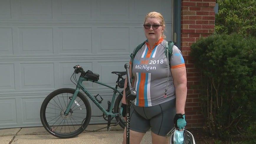Kindness of a stranger returns stolen bike to Ann Arbor woman