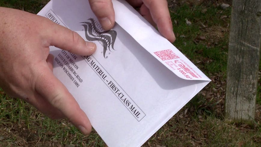 Secretary of State: Michigan voters should hand deliver their absentee vote, instead of mailing it