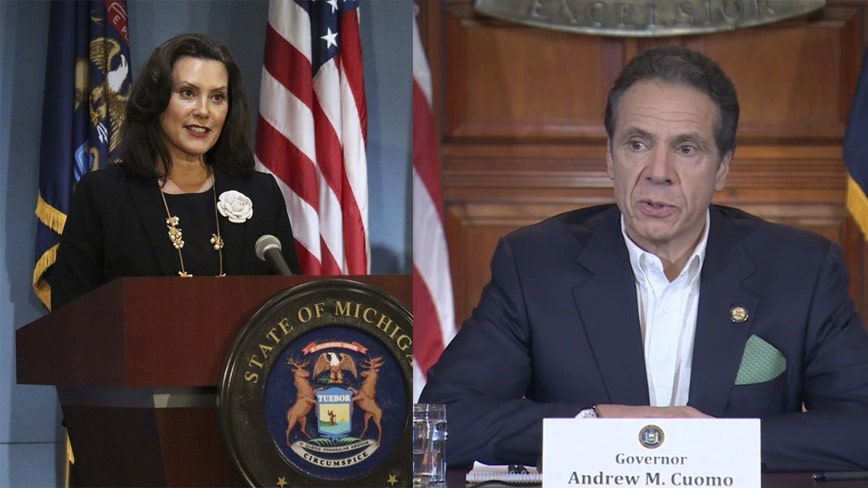 Mich. Gov. Whitmer, NY Gov. Cuomo call for investigation into Trump Administration's pandemic response