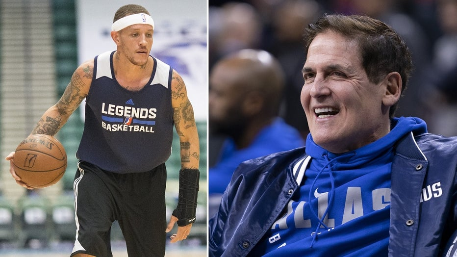GETTY Delonte West Mark Cuban