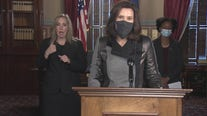 Whitmer says Michigan at a dangerous moment in COVID-19 battle