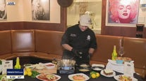 Chef Craig Myrand with Cello Italian Restaurant makes delicious Chicken Parmesan with house red sauce