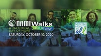 NAMI organization shining a light on mental illness with virtual walk Saturday