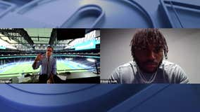 Dan Miller goes 1-on-1 with Lions running back D'Andre Swift after Detroit's 34-16 win over the Jaguars