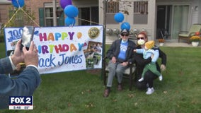 Sterling Heights celebrates WW II veteran's 100th birthday