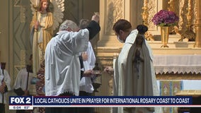 Local Catholics unite in prayer for international Rosary Coast to Coast