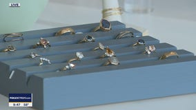 You can design your own jewelry at Elaine B Jewelry in Ferndale