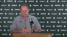 WATCH - Tom Izzo on the Spartans as practice kicks off