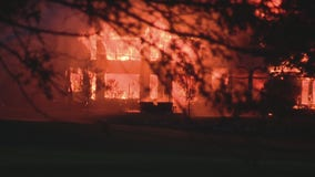 7,000-square ft home destroyed by fire in Bloomfield Twp.