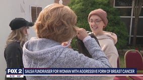 Detroit Salsa Company organizes fundraiser to raise money for woman battling breast cancer