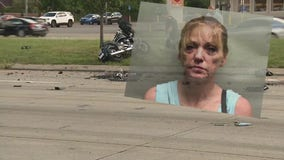 Woman with felony drug background was high in crash that killed motorcyclist, say police