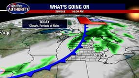 Cloudy, Cool and Wet Sunday