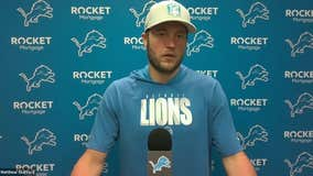 WATCH - Matthew Stafford discusses victory over Jags