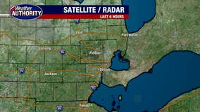 Another dry day with some showers set to arrive Thursday.