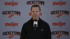 WATCH - Kris Draper and son Kienan react to Kienan being drafted by the Red Wings