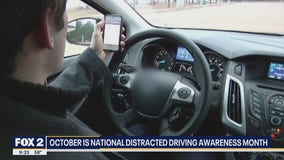 MSP talks distracted driving on The Nine