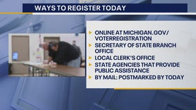 Oct. 19 is the last day to register to vote by mail