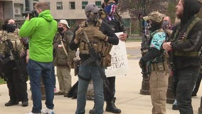 Peaceful unity protest in Lansing