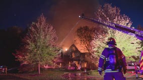 Fire destroys 7,000 square foot estate in Bloomfield Hills