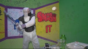 Smash away your stress at The Rage Room