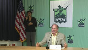 Mayor Duggan speaks on hiring progress at Detroit's new FCA assembly plant