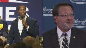 US Senate race tightens between Gary Peters, John James