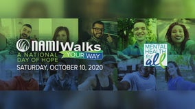 NAMI organization shining a light on mental illness with virtual walk Saturday