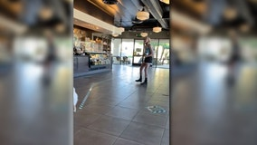 Starbucks praises Black barista's response to mask-eschewing customer who yelled 'f--- Black Lives Matter'