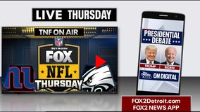 How to watch the Presidential debate and Thursday Night Football on FOX 2