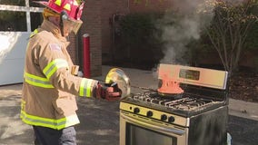 West Bloomfield Fire Marshal gives virtual fire safety lesson in the kitchen