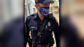 Miami officer to be disciplined after wearing Trump mask at early voting site while in uniform