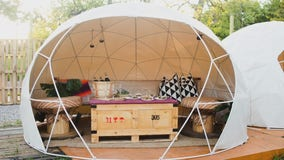 New Detroit restaurant East Eats hoping to draw customers in amid pandemic with individual, outdoor domes