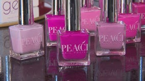 Pink nail polish purchases at Birmingham's Color Box help fund breast cancer research