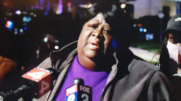 Mother of barricaded man holding girlfriend hostage in Detroit makes plea for him to surrender