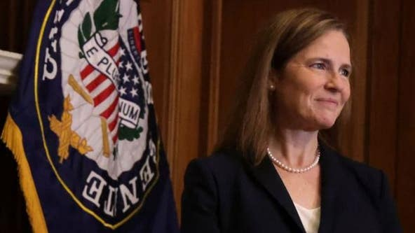 Senate votes on Amy Coney Barrett's confirmation to US Supreme Court