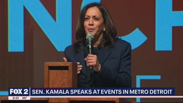 Sen. Kamala Harris spends day in Metro Detroit 'Detroit, Joe and I can't do this without you'