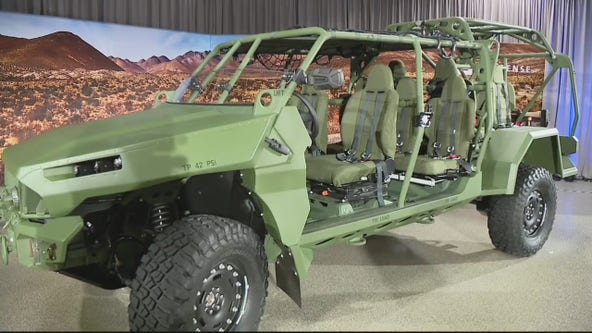 General Motors unveils Infantry Squad Vehicle for troops