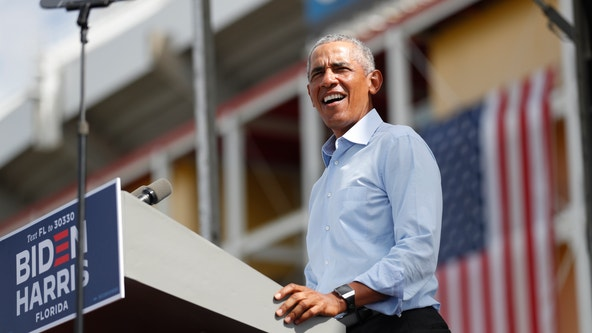 Barack Obama, Joe Biden plan Halloween drive-in events in Detroit and Flint