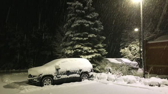 Marquette breaks two October snowfall record as almost 20 inches of snow falls