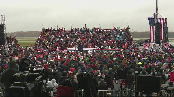 Michigan Democrats criticize President Trump's campaign rally in Lansing